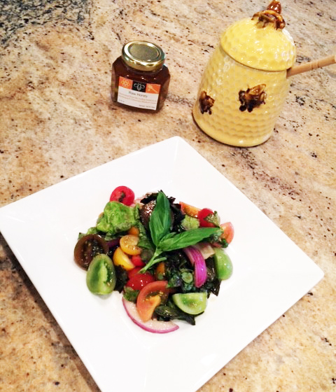 Salad_honey_photo