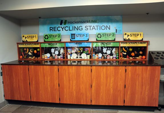 Hackensack Opens New Recycling Station In 2nd Street Cafe